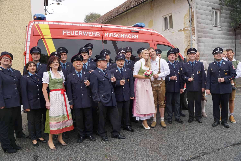 Hochzeit Von Elisa Und Andreas Freiwillige Feuerwehr Hirschhorn