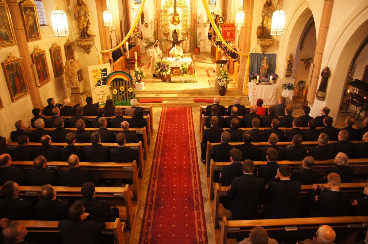 Festgottesdienst in der Pfarrkirche Hirschhorn