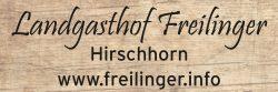 Landgasthof Freilinger - Hirschhorn