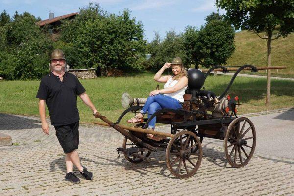 """Eva Petzenhauser und Stefan Wählt gastieren am 14.07.2018 mit """"g'ess'n wird dahoam!"""" bei der Feuerwehr Hirschhorn"""