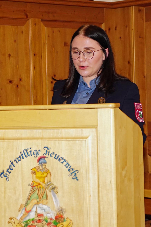 Jugendwartin Christina Strobl