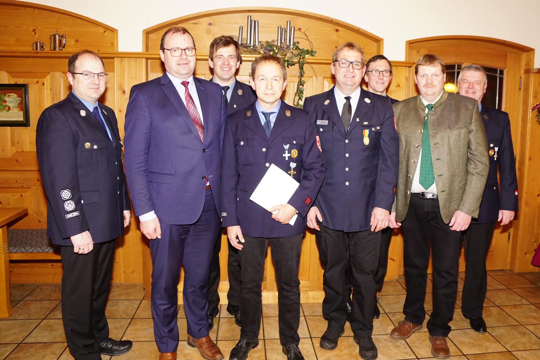 Stefan Holfelder, Michael Fahmüller, Andreas Ries, Hans Biedersberger, Peter Strobl, Thomas Grötzinger, Georg Thurmeier, Manfred Nußbaumer