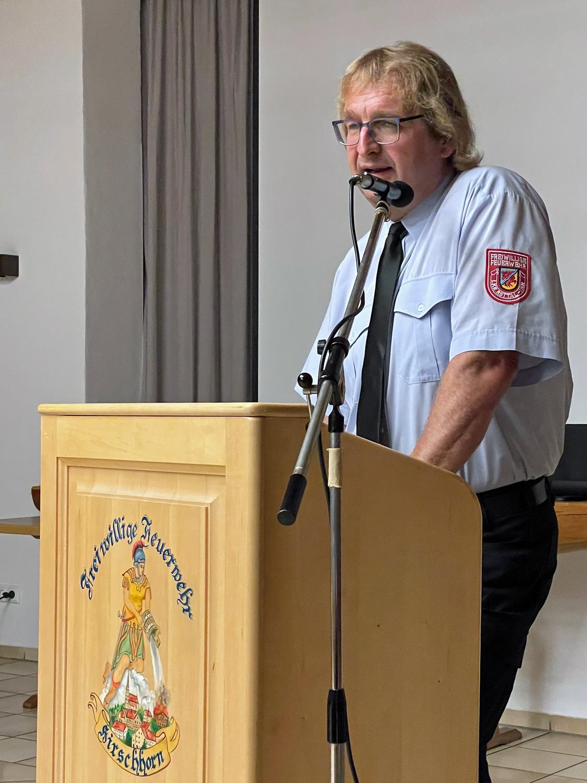 Kreisbrandmeister Peter Strobl