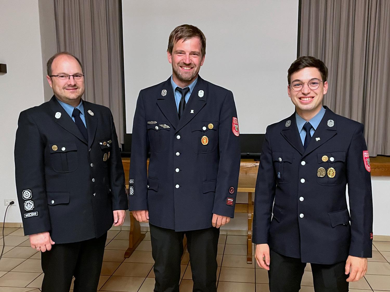Stefan Holfelder, Andreas Ries, Julian Moser